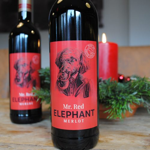 2018 Mr. Red Elephant Merlot Südafrika